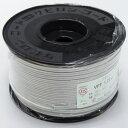 在庫品 KHD VFF1.25SQ 灰 100m 1巻(ボビン巻) 300V ビニル平形コード (RoHS対応)