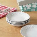 POTPURRI(ポトペリー) 小皿 セット 5枚組 Mulet ミュレット レリーフ ギフト box入り 日本製