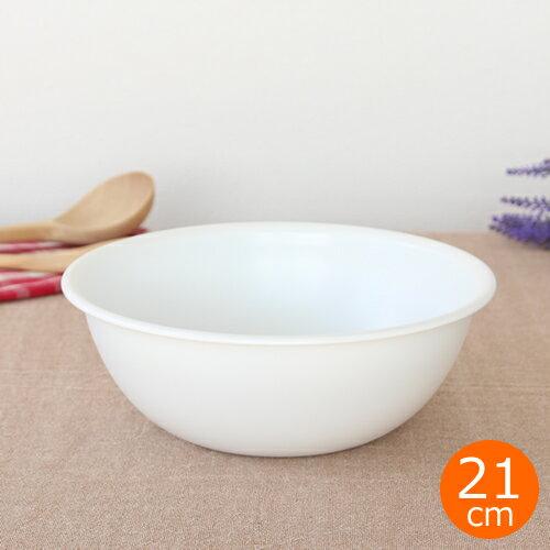 えいまつステンレスホワイト浅型ボウル21cmほわいと白ボール白いキッチンツール日本製