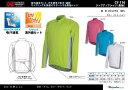ジップアップシャツ(長袖) CY-110 サイクルウェアシリーズ 紫外線カット、吸汗速乾、ポリエステル100% アウトドア用・サイクリ..