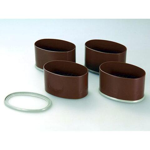 テーブル・こたつの脚の継ぎ足し用 幅広サイズ用 NEWハイヒールワイド 4個組 H-651 ゆとりある高さに 2段階調節可能 床を傷めない 底面カバー付 日本製