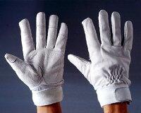 おたふく革手袋二重補強付(L)1双組防災用・作業用などに使える手袋手の平と指先は耐久性の高い2重補強