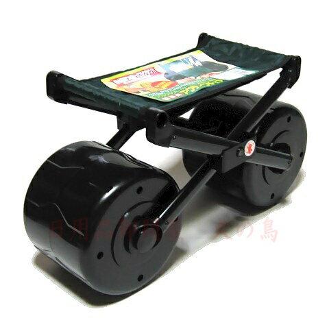 園芸用アクティブチェア園芸用座り作業がラクラクカートの両側ポケットに園芸道具を収納可能ガーデニングカ