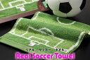 リアルサッカーフェイスタオル サッカー サポーター