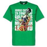 【】RE-TAKE ホルヘ?カンポス Legend Tシャツ(グリーン)【サッカー サポーター グッズ Tシャツ】