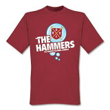 【】RE-TAKE ウエストハム The Hammers Bubble Tシャツ【サッカー サポーター グッズ Tシャツ】