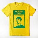 オスカル グラフィック Tシャツ(イエロー)【adidas/アディダス】【サッカー サポーター グッズ Tシャツ】【10P03Dec16】