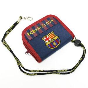 バルセロナ オフィシャル ラウンド ウォレット ネイビー サッカー サポーター