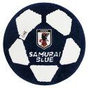 日本代表 オフィシャル ボール型 マット(直径60cm)【サッカー サポーター グッズ ラ
