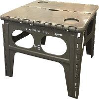 フォールディングテーブル(オリーブ)【アウトドア キャンプ】の画像
