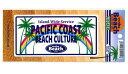 on the Beach ステッカー PACIFIC COST BEACH CULTURE【サーフィン 趣味 スポーツ】