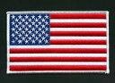 アメリカ国旗ワッペン LL