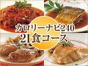 ニチレイフーズカロリーナビ24021食コース (2015年秋)21食セット【食品】単身赴任・一人暮らしにも♪