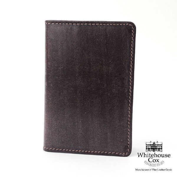 "Whitehouse Cox(ホワイトハウスコックス)ブライドルレザー 名刺入れ ""BRI NAME CARD CASE""・S7412-1831502【メンズ】【レディース】【小物】 【国内正規品】"