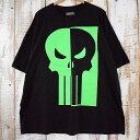 ショッピングスカル MARVEL The Punisher スカルプリントTシャツ 3X マーベル パニッシャー 骸骨 ドクロ 蛍光 ヒーロー 【古着】 【ヴィンテージ】 【中古】 【メンズ店】