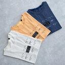 MofM (man of moods) オリジナル Tシャツ MOUNTAIN STREAM (3色 WHITE/YELLOW/NAVY) 1810-CS04 マンオブムーズ カットソー コンセプト みなかみ 群馬 日本製 メンズ 送料無料