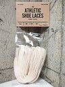 This is... All-Cotton Athletic Shoe Laces オールコットン アスレチックシューレース 靴紐 【サイズ:32inch , ...