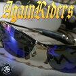 偏光サングラス≪ブルーフラッシュ≫超薄型偏光レンズ/AGAINライダーズ/AG09-2
