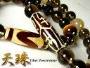 チベット天珠ブレスレット/天然石パワーストーン/ルチルクォーツほか全5種