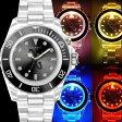 ショッピングイタリア COGU ITALY ナイトフラッシュ/ウォッチ LED発光男女兼用/メンズ・レディース/腕時計