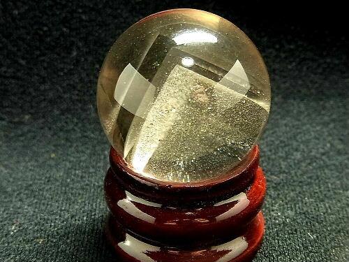【全品10%OFF・ポイント10倍】 パワーストーン 天然石 ピラミッドファントム 水晶球 35.5mm CrystalBall11  【Felistone】 高品質 ピラミッドファントム 水晶球 天然石 パワーストーン