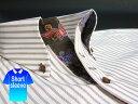 かりゆしウェア結婚式に アロハシャツ 沖縄 メンズ ボタンダウン 半袖 クールビズ Yシャツ ワイシャツ 【楽ギフ_包装】 【rcp】 おしゃれ 限定 紅型 白×茶 ホワイト ストライプ ( msst-wt02-0817 )