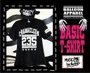 大人気★balloon★ベーシックTシャツ/ブラック/