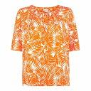 ショッピングマンゴー ホッブス Hobbs レディース Tシャツ トップス【Viola Tee】Neon Mango