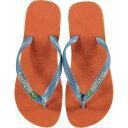 ショッピングhavaianas ハワイアナス Havaianas メンズ ビーチサンダル シューズ・靴【Brazil Logo Flip Flops】Orange B