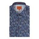 サイモンカーター メンズ トップス フォーマルシャツ【Simon Carter Watercolour House print shirt】【10P03Dec16】
