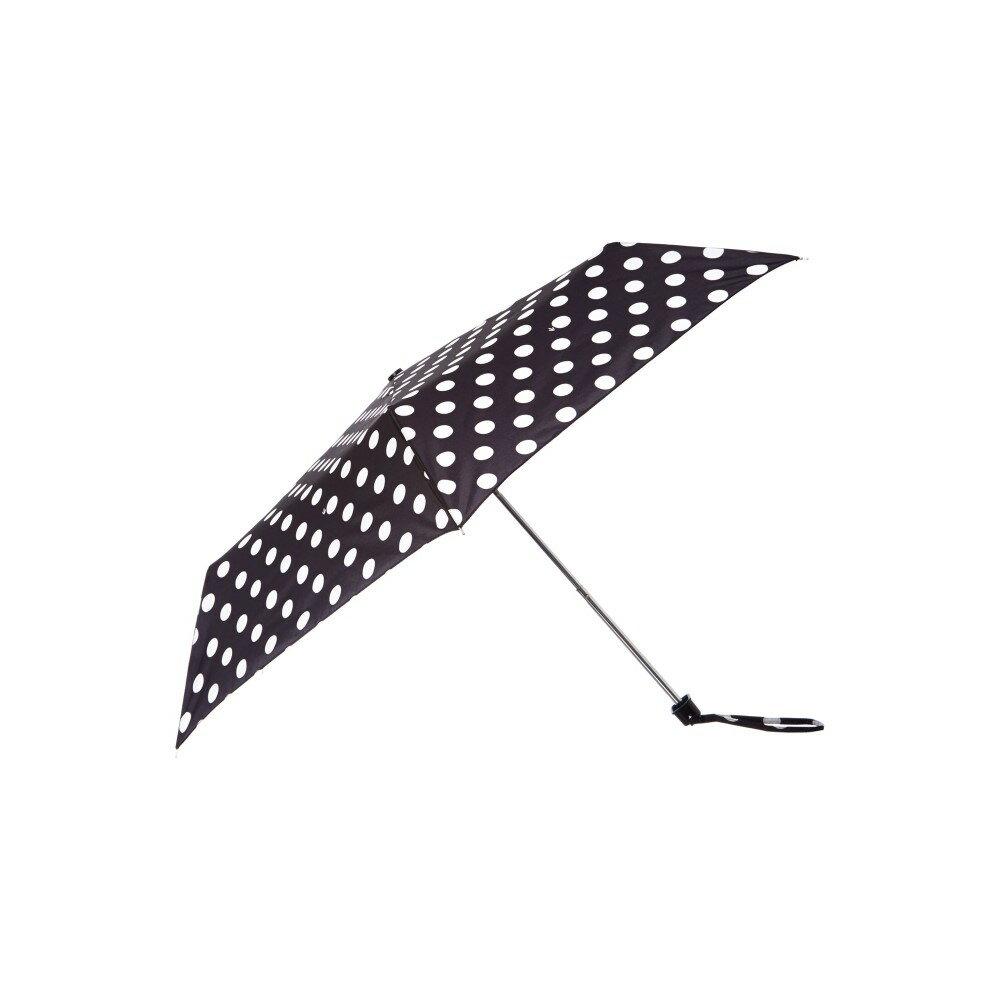 フルトン レディース アクセサリー 傘【Fulton Spot miniflat umbrella】Black フルトン レディース アクセサリー 傘 【サイズ交換無料】洗練された技術