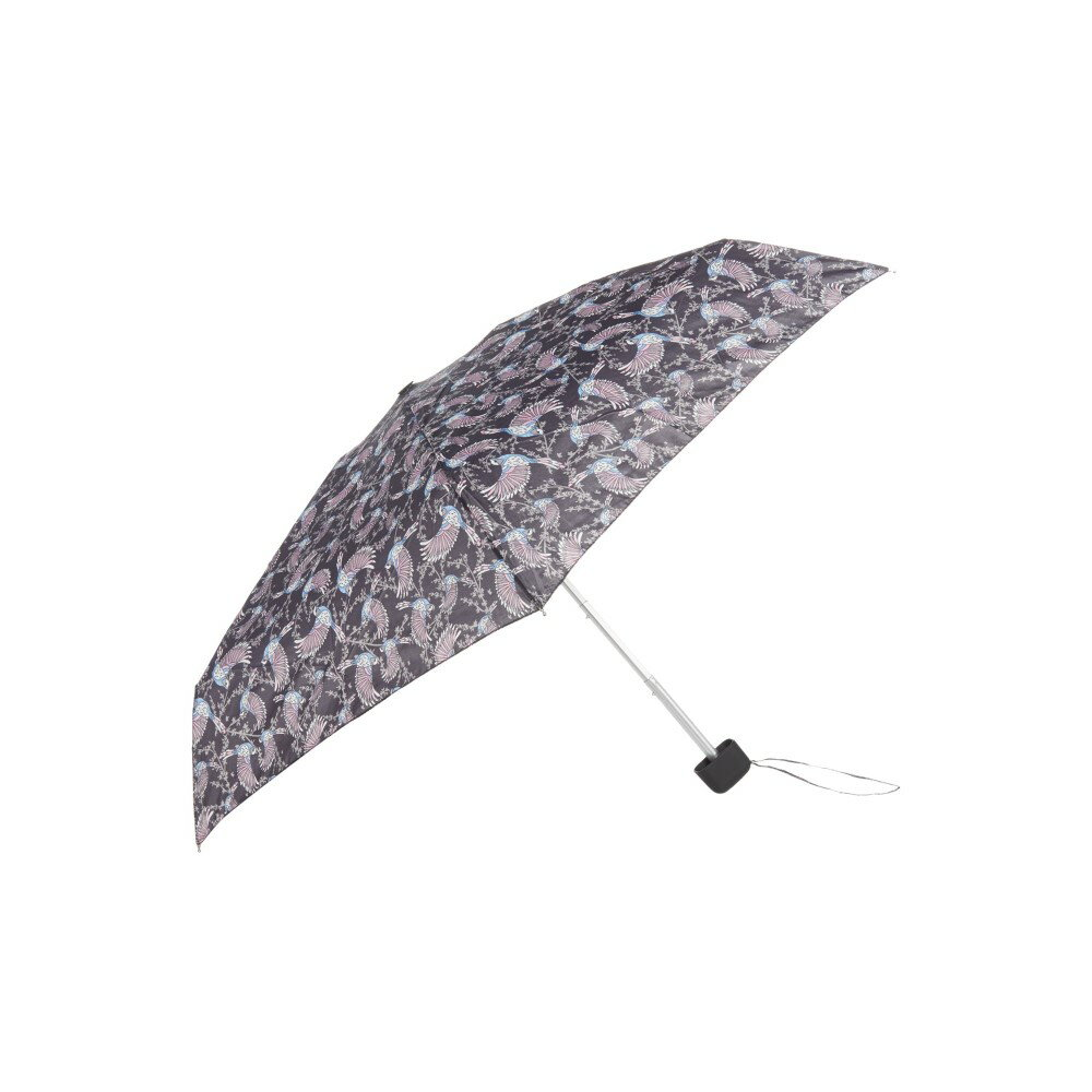 フルトン レディース アクセサリー 傘【Fulton Tiny falling birds print umbrella】black multi フルトン レディース アクセサリー 傘 【サイズ交換無料】