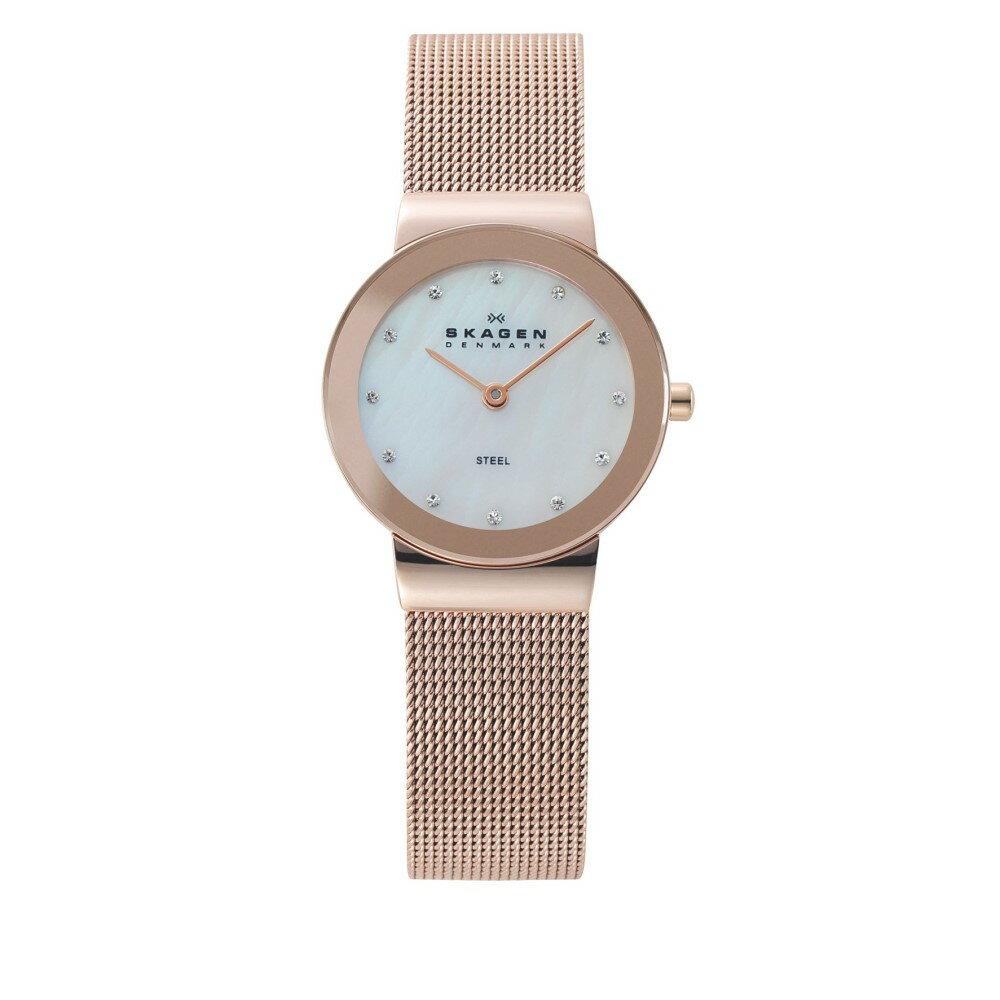 スカーゲン レディース アクセサリー 腕時計【Skagen 358SRRD Classic Rose Gold Mesh Watch】 スカーゲン レディース アクセサリー 腕時計 【サイズ交換無料】