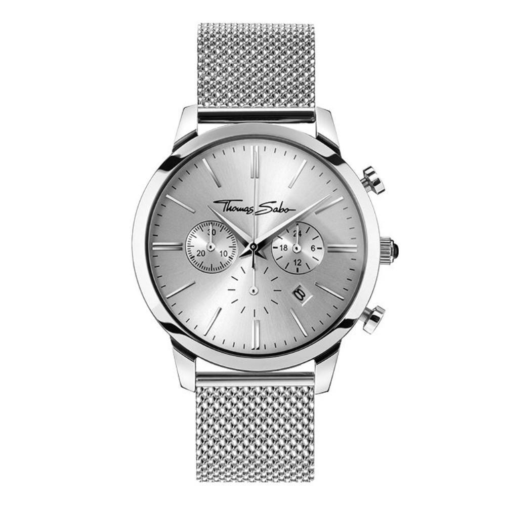 トーマスサボ メンズ アクセサリー 腕時計【Thomas Sabo Rebel at heart Eternal Rebel Chrono Watch】 トーマスサボ メンズ アクセサリー 腕時計 【サイズ交換無料】