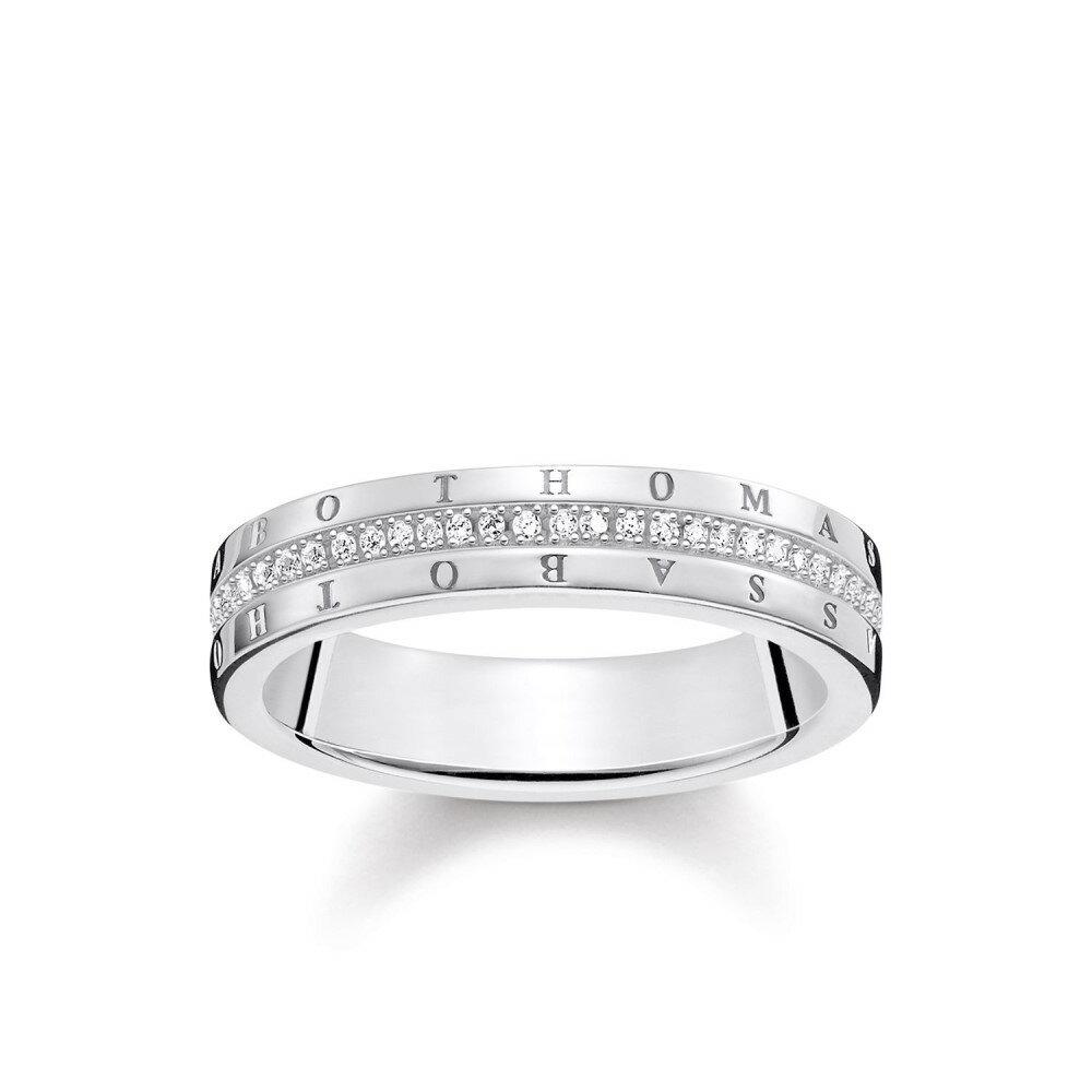 トーマスサボ レディース アクセサリー 指輪【Thomas Sabo THOMAS SABO Signature Diamond Ring Band】Metallic トーマスサボ レディース アクセサリー 指輪 【サイズ交換無料】