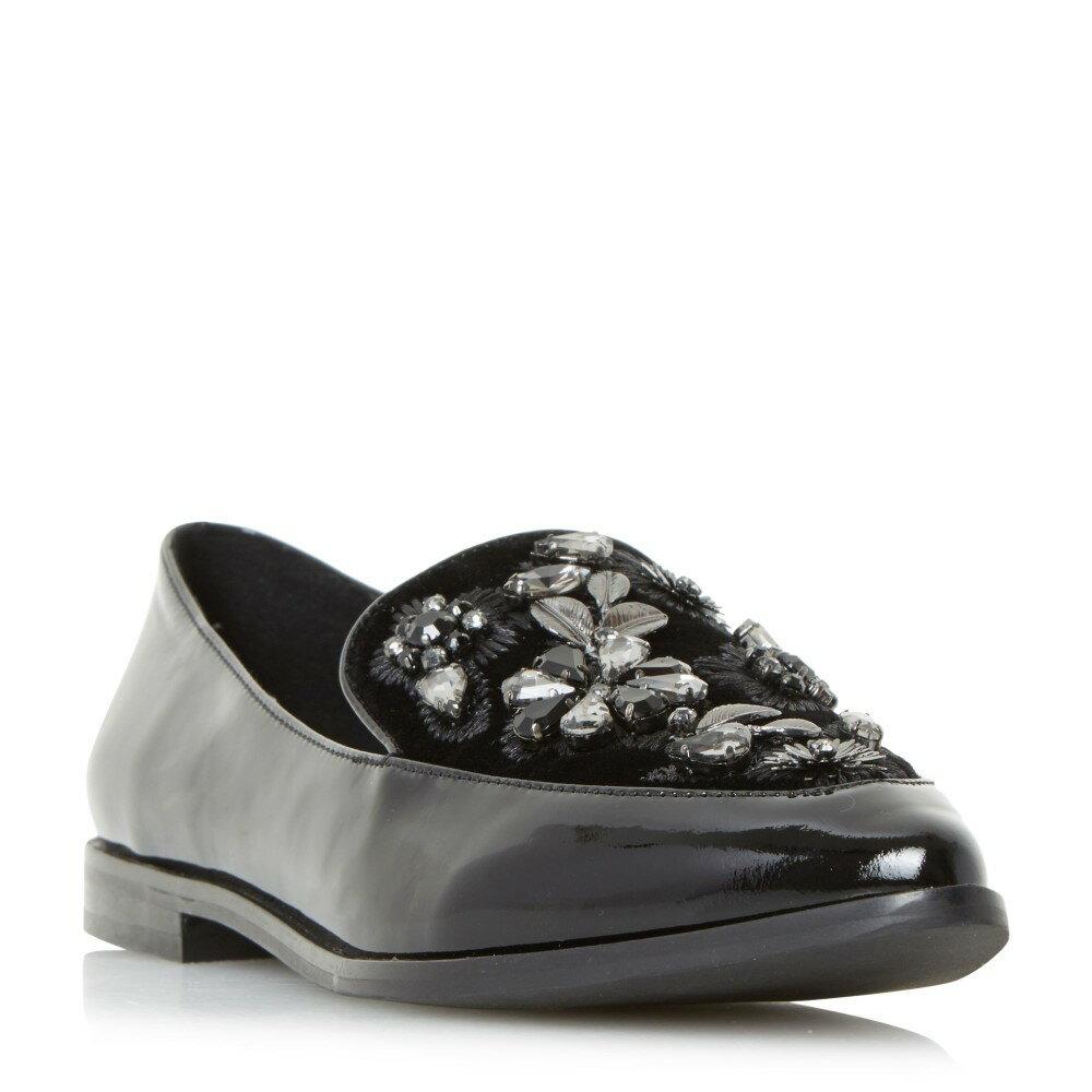 デューン レディース シューズ・靴 ローファー・オックスフォード【Gift Pointed Toe Beaded Loafers】jet black デューン レディース シューズ・靴 ローファー・オックスフォード 【サイズ交換無料】中川ともこ