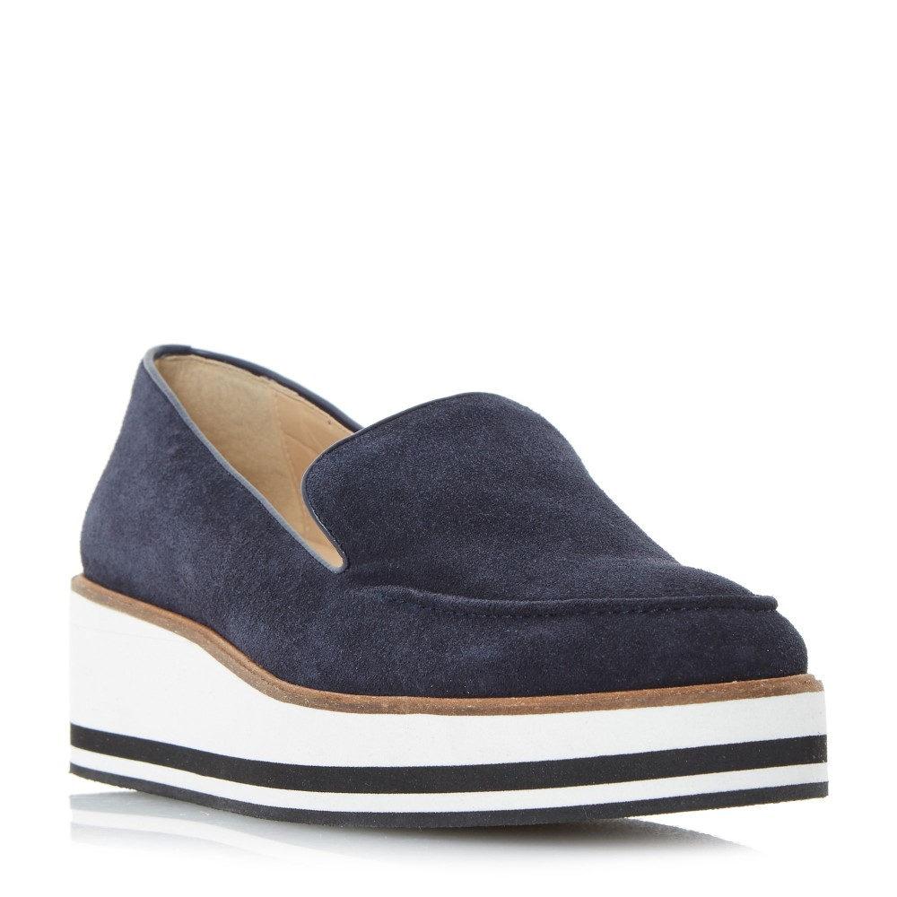 デューン レディース シューズ・靴 ローファー・オックスフォード【Genesis Flatform Loafer Shoes】blue デューン レディース シューズ・靴 ローファー・オックスフォード 【サイズ交換無料】【多様なスタイル】