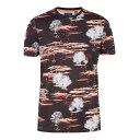 テッドベーカー Ted Baker メンズ トップス Tシャツ【Happie Ss All Over Printed T-shirt】dar...