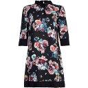 ユミ Yumi レディース ワンピース・ドレス ワンピース【Midnight Flower Tunic Dress】Black