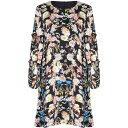 ユミ Yumi レディース ワンピース・ドレス ワンピース【Floral Frill Sleeve Tunic Dress】Multi-Coloured
