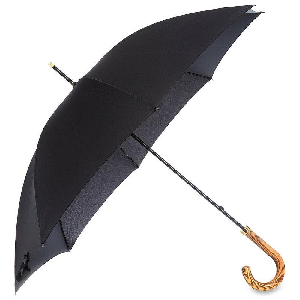 フルトン fulton レディース アクセサリー 傘【commissioner wooden crook umbrella】Black フルトン レディース アクセサリー 傘 【サイズ交換無料】