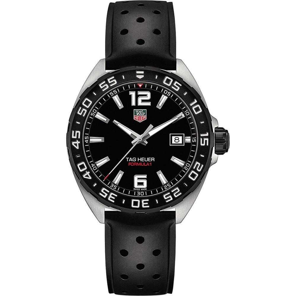タグ ホイヤー tag heuer メンズ アクセサリー 腕時計【waz1110.ft8023 formula 1 polished steel watch】Black タグ ホイヤー メンズ アクセサリー 腕時計 【サイズ交換無料】