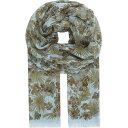 イートン eton メンズ アクセサリー スカーフ・マフラー【botanical print cotton-modal scarf】Offw...
