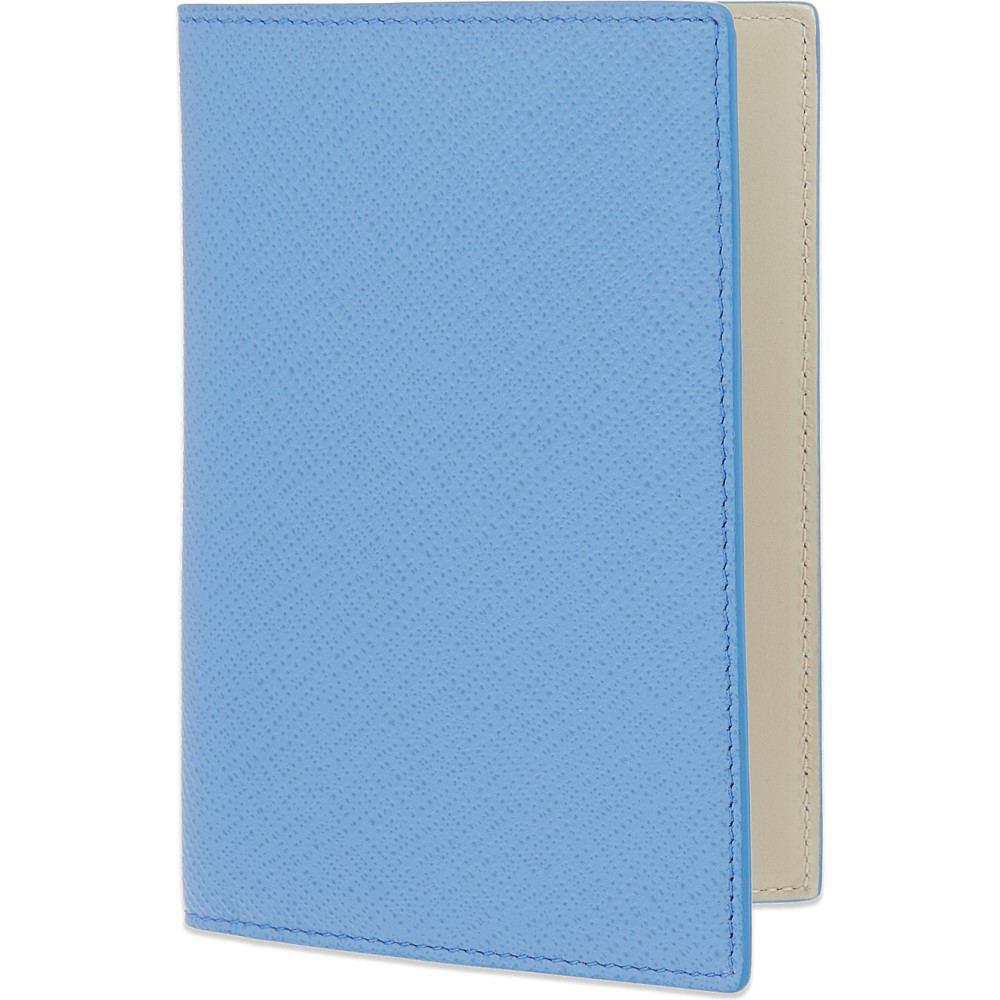 スマイソン smythson メンズ アクセサリー パスポートケース【panama leather passport cover】Nile blue