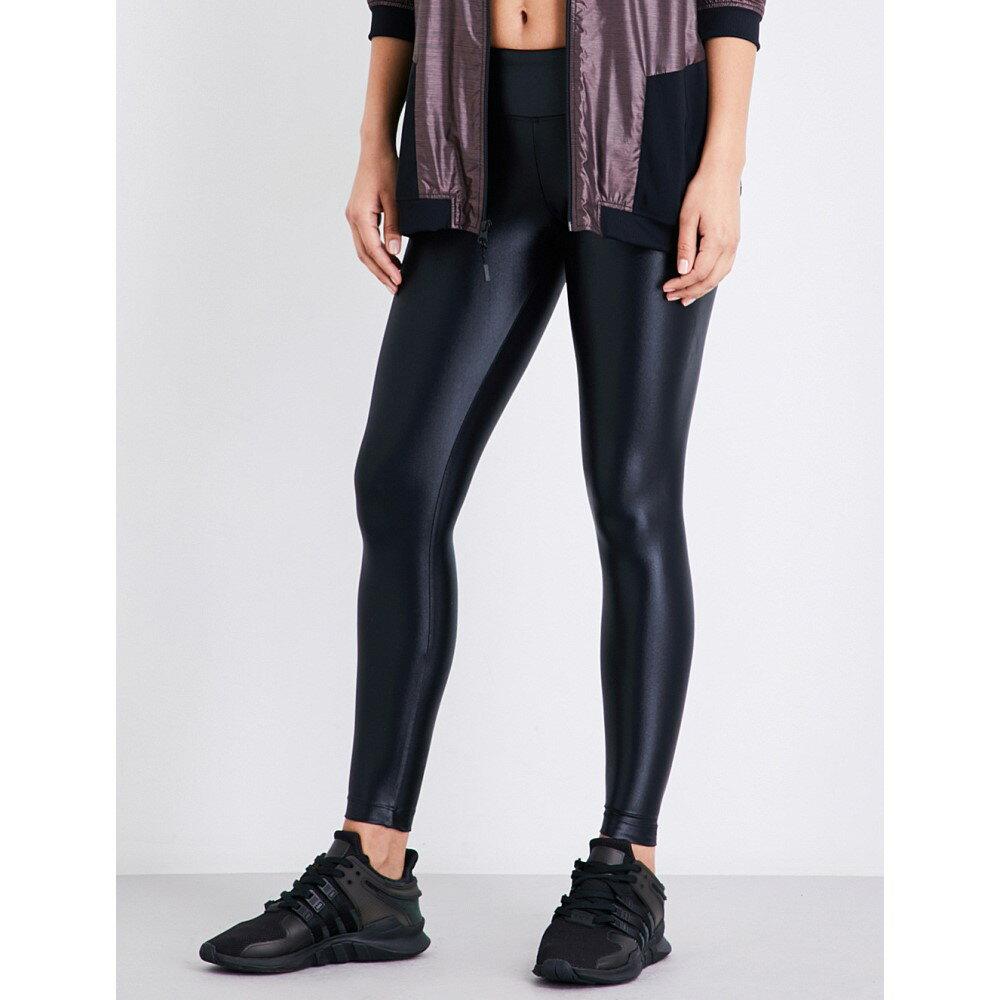 コラール koral レディース インナー・下着 スパッツ・レギンス【lustrous high-shine leggings】Black