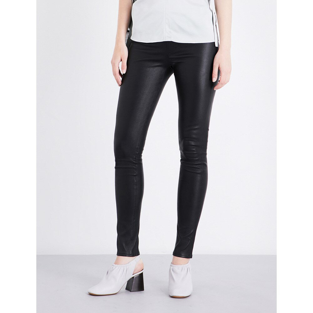ヘルムート ラング helmut lang レディース インナー・下着 スパッツ・レギンス【skinny stretch-leather leggings】Black