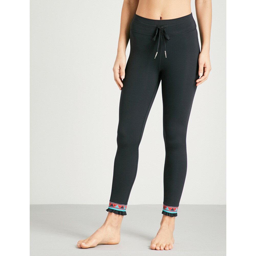 ジアップサイド レディース インナー・下着 スパッツ・レギンス【bolo midi stretch-jersey leggings】Black