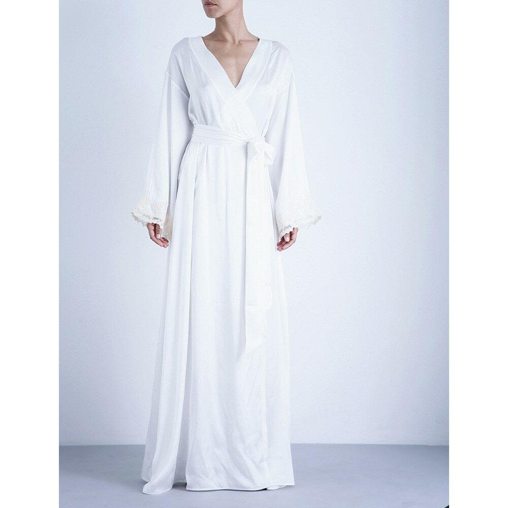 ラ ペルラ レディース インナー・下着 ガウン・バスローブ【maison stretch-silk robe】Natural