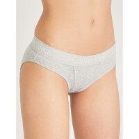 カルバンクライン レディース インナー・下着 ショーツのみ【body cotton-jersey bikini briefs】Grey