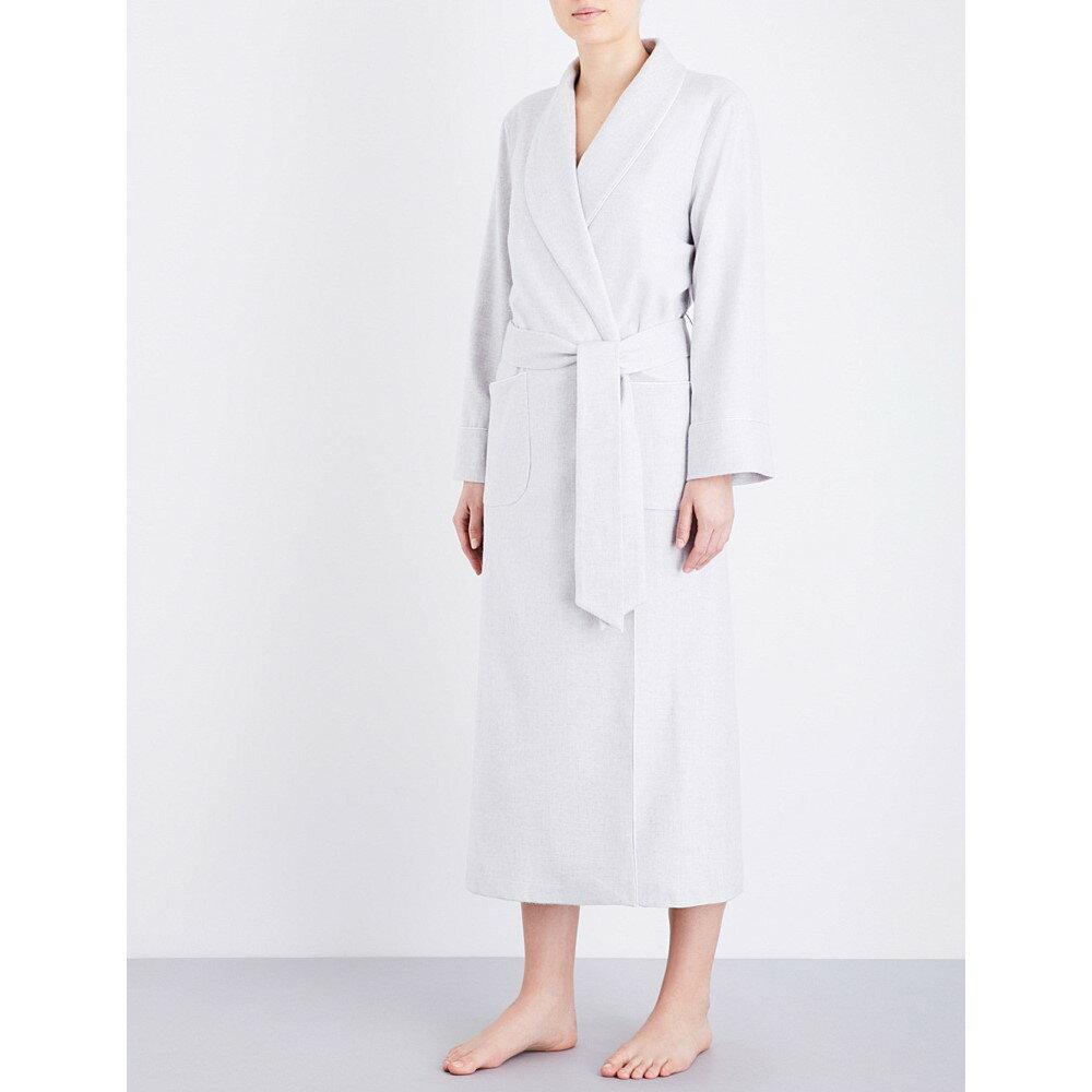 ジョンストンズ レディース インナー・下着 ガウン・バスローブ【ladies cashmere dressing gown】Ru- l/grey